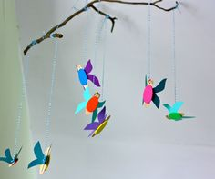 DIY flying fairy mobiles, and Make your own Woodland Fairy kits