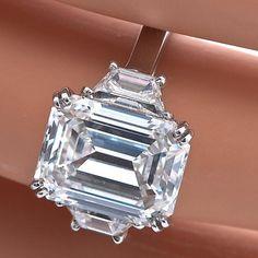 Gorgeous @Cartier emerald cut ring
