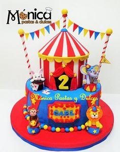 Risultati immagini per monica pastas y dulces torta circo