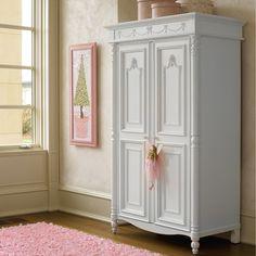 Beautiful Armoire In This Girlu0027s Room   Love The Bow Detail. Girls FurnitureChildren  FurnitureBedroom ...