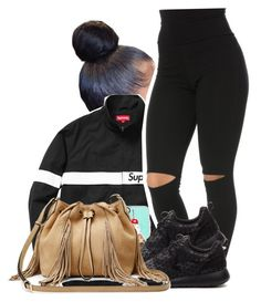 """""""$upreme"""" by bfamily ❤ liked on Polyvore featuring Casetify, NIKE and Diane Von Furstenberg"""