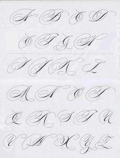 Fancy Pants Calligraphy Alphabet Majuscules - Imgur