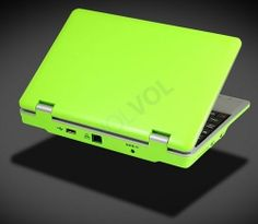 WolVol NEW (Android 4.0 - 1GB RAM) LIME GREEN 7inch Laptop Notebook Netbook PC, WiFi and Camera with Google Play and Flash Player (Includes: Velvet Pouch Case, Charger, Mini Optical Mouse)  Product sku: 114 Availability: 74  Price: $129.94
