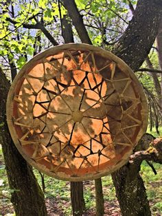 18' Handcrafted Shaman drum (Goat hide)