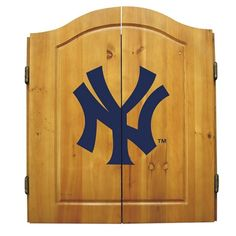 New York Yankees Dart Cabinet