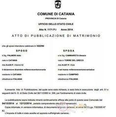 Le pubblicazioni del matrimonio di Aldo Palmeri e Alessia Cammarota di Uomini e Donne