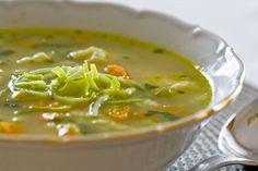 Polievka z ovsených vločiek - Recept pre každého kuchára, množstvo receptov pre…