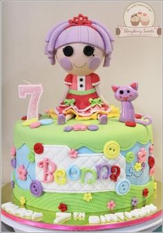 Lalaloopsy Cake.