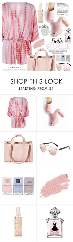 """Pink"" by vanjazivadinovic ❤ liked on Polyvore featuring Whiteley, Corto Moltedo, Nails Inc., Jane Iredale, polyvoreeditorial and twinkledeals"