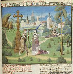 Des cas de nobles hommes et femmes, MS M.342 fol. 77r - Images from Medieval and…