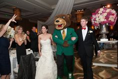Now that's a #Baylor wedding. #SicEm