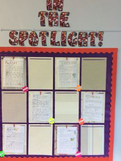 Year 3 have created a writing appreciation wall to share good examples of writing in the classroom.