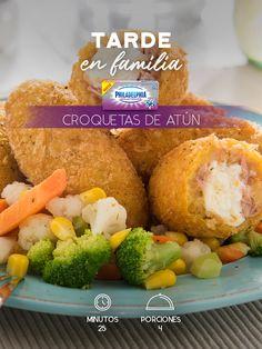 Hoy es día de consentir a todos y disfrutar unas Croquetas de atún. #recetas #receta #quesophiladelphia #philadelphia #crema #quesocrema #queso #comida #cocinar #cocinamexicana #recetasfáciles #recetasPhiladelphia #recetasdecocina #comer #croquetas #atún #recetasatún #comida #croqueta #recetacroquetas #deslactosado