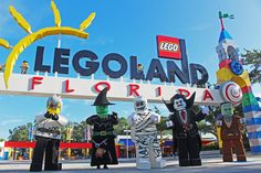 Meet your favorite Halloween Minifigure characters this year at Brick or Treat, select dates in October! #BrickorTreat #LEGOLANDFlorida #Halloween