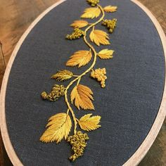 Most recent Snap Shots Embroidery Patterns on kurtis Suggestions Sticken Embroidery On Kurtis, Kurti Embroidery Design, Hand Embroidery Dress, Embroidery Neck Designs, Embroidery On Clothes, Embroidery Works, Simple Embroidery, Gold Embroidery, Learn Embroidery