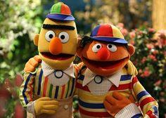 """Friendship"" Sesame Street's photo. Sesame Street Muppets, Sesame Street Characters, Bert & Ernie, Street Pictures, Fraggle Rock, The Muppet Show, Kermit The Frog, Great Tv Shows, Jim Henson"