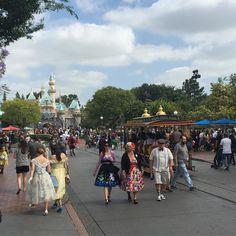 Today is like going back in time at Disneyland!! #dapperday #disney #disneyland #disneyparks #disneyside #disneymagic #disneylove #disneyfan #annualpassholder #familytime #adventureisoutthere #socal #anaheim by hsalinas2.0