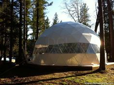 """Geodesic Dome Shelters by DomeGuys - """"Back to the Land"""""""