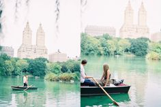 Rowboats in Central Park (Trent Bailey Photography)