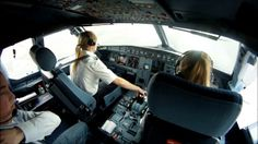 "This is ""flying Airbus"" by Sven Borchers on Vimeo, the home for high quality videos and the people who love them. Pilot Uniform, Female Pilot, Funny Pictures, Beautiful Women, Voici, Planes, Aviation, Passion, Cabin"