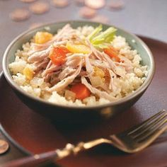 Slow Cooker Chicken Stew Recipe from Angela Buchanan in Longmont, Colorado — from Healthy Cooking magazine