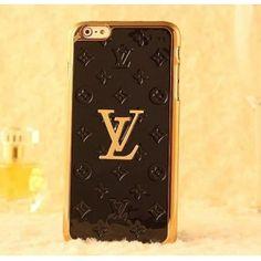 e8fde5407d42 Luxury Louis Vuitton iPhone 6   6 Plus Cases - Connect Fashion - Black