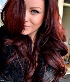 Deep reddish brown hairstyles 2016