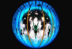 Una cámara en la piscina olímpica tuitea las fotos más asombrosas de Londres 2012