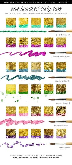 Check out InstaGlam PSD Photoshop System: Glam+Gold Foil by Jessica Johnson on Creative Market