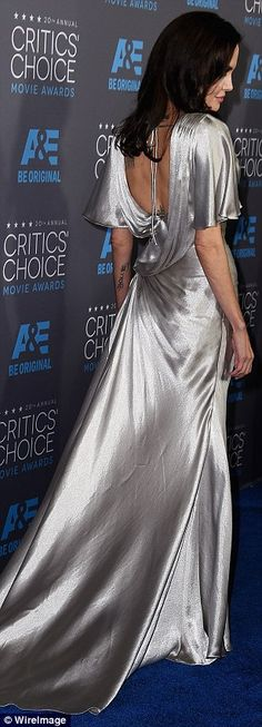 Angelina Jolie outshines the pack at Critics' Choice Awards #dailymail