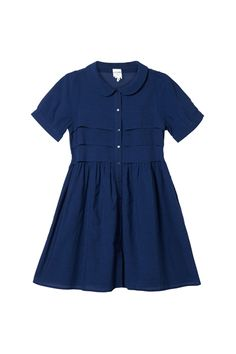 peter pan collar navy dress  monki Marin Klänning 448fe790ba23c