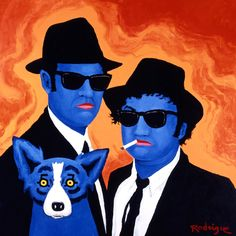 Musings of an Artist's Wife: My Blues Brothers