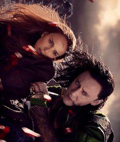 Jane and Loki