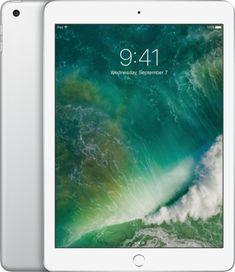 Apple - iPad (Latest Model) with WiFi - 128GB - Silver - Alt_View_Zoom_12