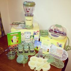 EE!!! I've wanted the baby bullet and the steamer since I first saw the commercials!! Now I can finally buy it! <3