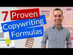 How To Write Sales Copy - 7 Proven Formulas You Can Steal - YouTube Copywriting, Learning, Youtube, Study, Youtubers, Onderwijs, Studying