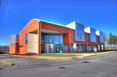 Carlos Jimenez | Peeler Art Center | GreenCastle Indiana USA | 1997-2000 | por TheMorganBurke