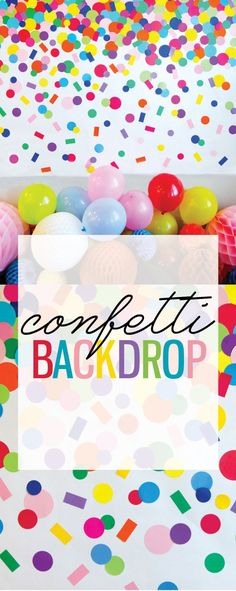 DIY Homemade Confett