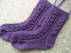 Ravelry: Whirligig Socks pattern by verybusymonkey