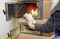 Gespaltenes Holz brennt besser #News #Wohnen