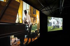 Ragnar Kjartansson, The Visitors -- Ragnar Kjartansson's moving nine screen installation confirms the Icelandic artist as one of his country's greats.