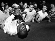 $5.95 - Big Jay Mcneely Olympic Auditorium Los Angeles 1953 Huge Giant Print Poster #ebay #Collectibles