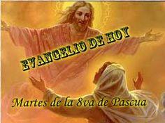 Martes de la Octava de Pascua-14 de abril-2020-A- - YouTube Youtube, Movie Posters, April 14, Mary Magdalene, Tuesday, Easter, Historia, Film Poster, Popcorn Posters