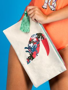 Exotic Toucan Summer Bag