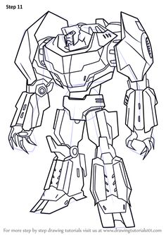 green grimlock coloring pages - photo#36