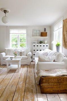 Swedish Decor Inspiration for Small Apartment - The Urban Interior Home Decor Trends, Living Room White, House Design, Home Decor Inspiration, Home, Sunroom Designs, Living Decor, Swedish Decor, Farmhouse Decor Living Room