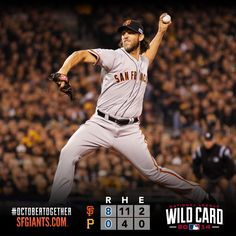 Madison Bumgarner strikes out 10 in a shutout to propel the Giants past the Pirates in the National League Wild Card game.