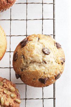 Muffins aux pépites dechocolat - Châtelaine
