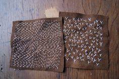 clarabella: stitching
