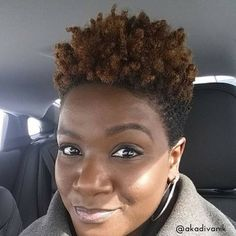 Top 7 TWA Styles You Should Try Today are the perfect hairstyles for those who feel stuck in their TWA stage after cutting their hair Natural Hair Short Cuts, Tapered Natural Hair, Short Hair Cuts, Twa Styles, Twa Hairstyles, Haircuts, Hairstyles Pictures, Black Hairstyles, My Hairstyle